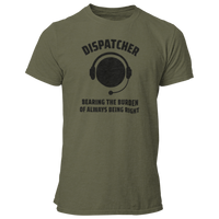 Dispatcher Bearing The Burden T Shirt - Pooky Noodles