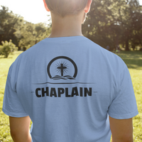 Chaplain Cross Logo T Shirt - Pooky Noodles