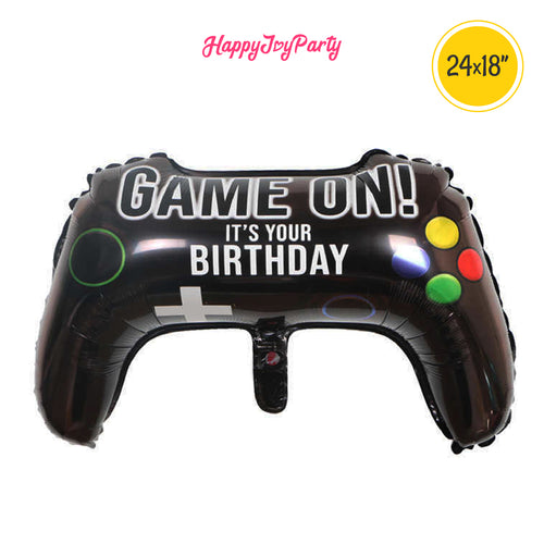 [Free Shipping] Game ON Mylar Balloon