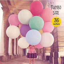 "Load image into Gallery viewer, [Free Shipping] 36"" JUMBO Macaroon Round Balloon"