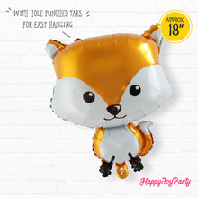 Load image into Gallery viewer, [Free Shipping] Woodland Animal Mylar Balloon