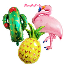Load image into Gallery viewer, [Free Shipping] Jumbo Pineapple Mylar Balloon