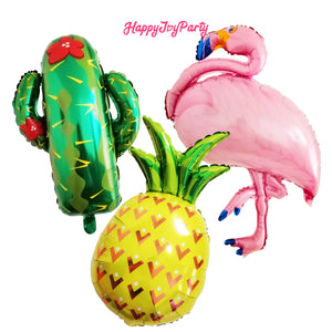 [Free Shipping] Jumbo Pineapple Mylar Balloon