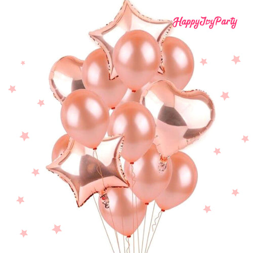 [Free Shipping] Rose Gold Balloon Garland Set | Arch Bouquet