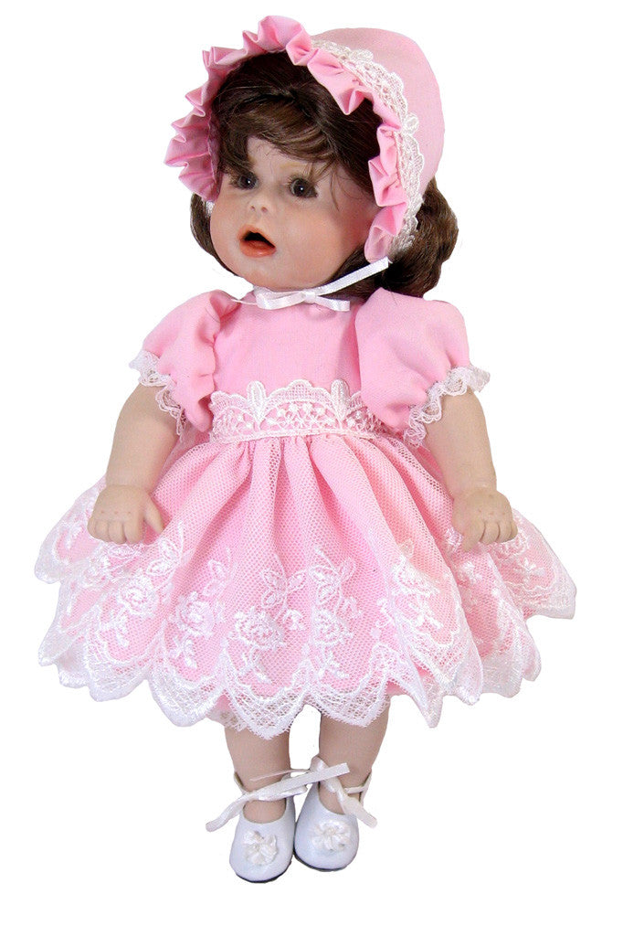 "Petite Baby Dress for 10"" Dolls"