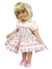 "10"" Striped Delight Doll Dress"