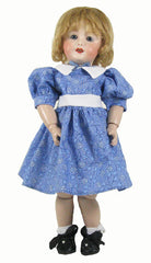 "11"" Calico Bleuette Dress"