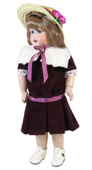 "11"" Velveteen Sunday Dress for Bleuette Dolls"