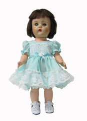 "12"" Ruffled Doll Dress"