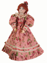 "12"" Victorian Rose Fashion Doll Dress-127"