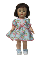 "12"" Shell Stitch Edged Doll Dress"