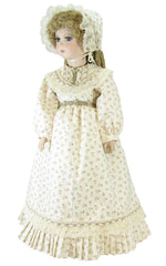 "18"" Calico Fashion Doll Dress"