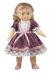 "12"" Rosebud Doll Dress"