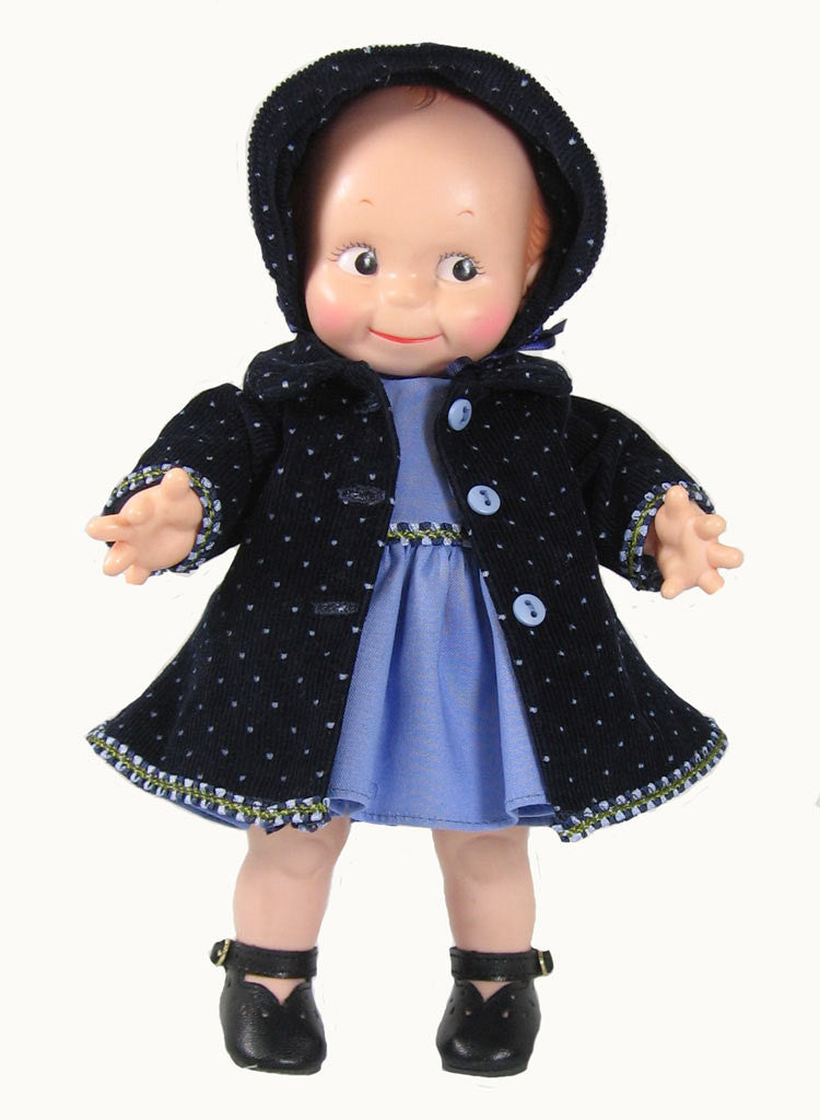 "12"" Kewpie Doll Coat Ensemble"