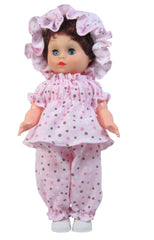 "12"" Flannel Doll Pajamas"