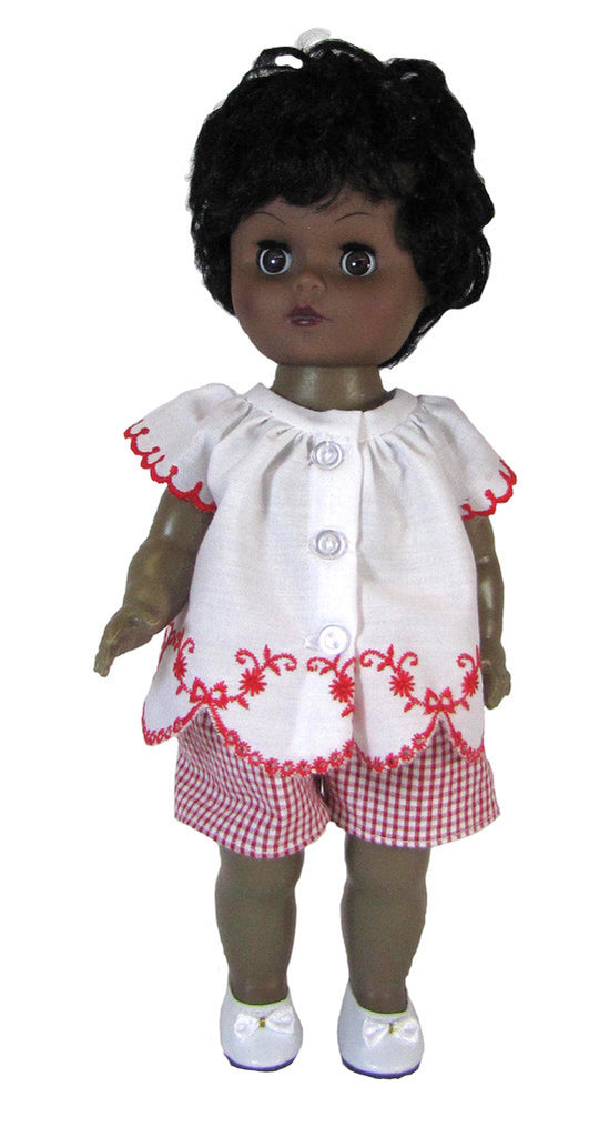 Peasant Blouse and Shorts Set for Goodfellow dolls