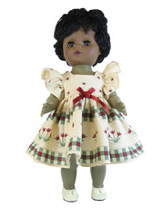 "12"" Country Tulip Doll Dress"