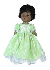 "12"" Elegant Formal Doll Dress"