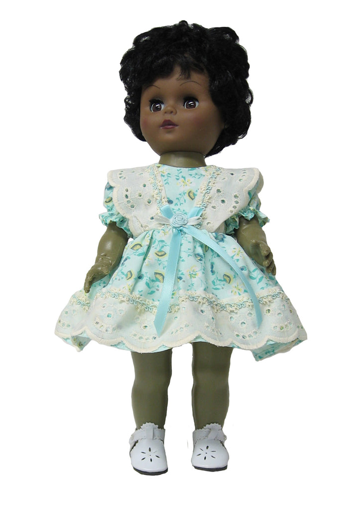 "Aqua 'n Eyelet Doll Clothes for 12"" Goodfellow Dolls"