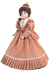 "12"" Striped Fashion Doll Dress"
