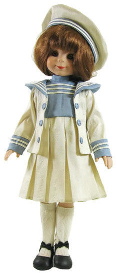 "Silk Sailor Dress for 13"" Betsy McCall Doll"