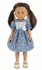 "13""  Smocked Doll Dress"
