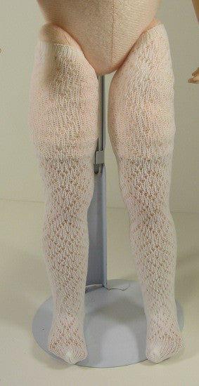 Diamond Mesh Thigh Highs