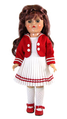 "14"",15""  Sailor Dress for Toni Doll"