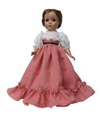 "14"" Little Women Amy Doll Dress"