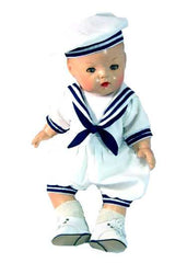 "14"" Boy Doll Sailor Outfit"