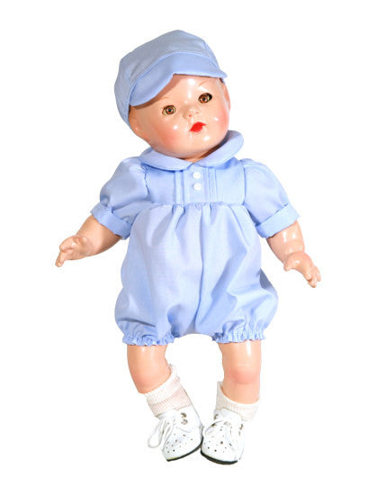 "14"" Boy Doll Romper"