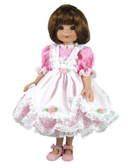 "14"" Slim Doll Pinafore Dress"