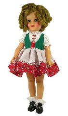 "15"" Heidi Styled Doll Dress"