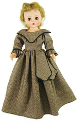 "15"" Brown Fashion Doll Dress"