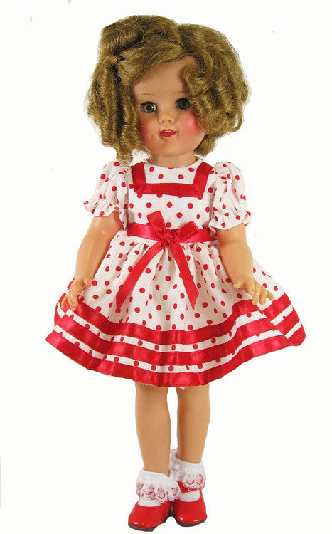Shirley Temple Red Dot Dress