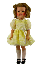 "16"" Shirley Temple Party Doll Dress"