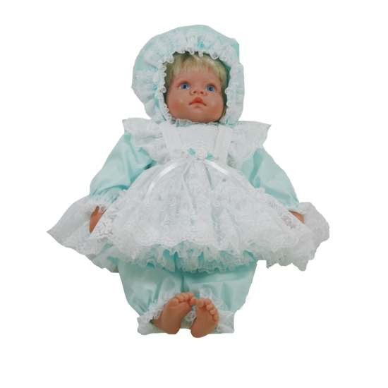 "16"" Pinafore Dress for Baby Doll"