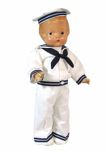 "16"" Sailor Doll Outfit"