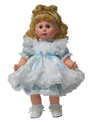 "17"" Pinafore Doll Dress"