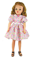 "18"" Rosebud Chiffon Doll Dress for Miss Revlon"