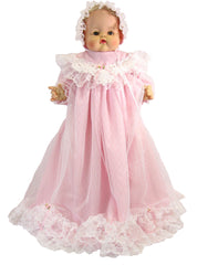 "18"" Sweet Christening Doll Dress"