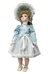"18""Victorian Silk Jacket Doll Dress"