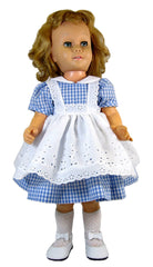 "19"" Gingham and Eyelet Dress for Chatty Cathie Dolls"