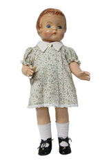 "19"" Pleated Front Patsy Doll Dress"