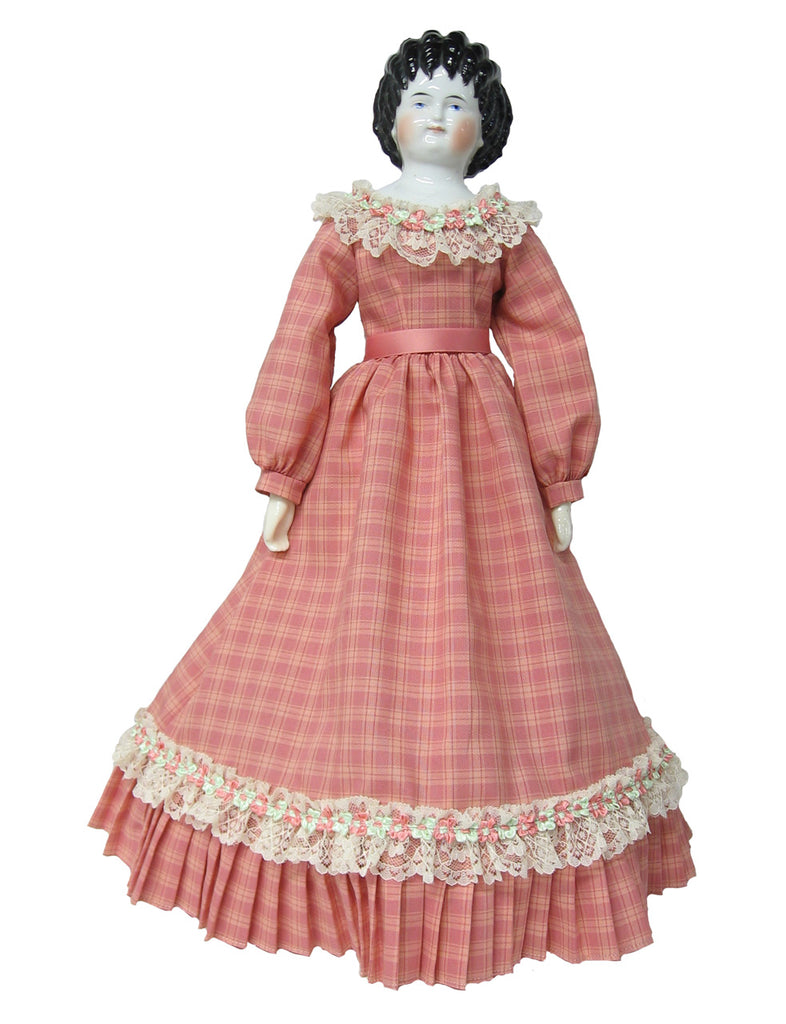 "Sweet Nectar Fashion Dress for 20"" China Head Dolls"