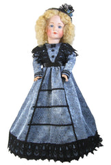 "20"" Jacquard Fashion Doll Dress"