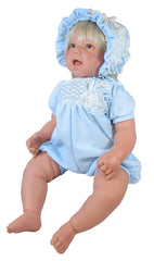 "20"" Smocked Knit Romper for Baby Dolls"
