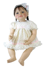 "20"" Short Rosebud Baby Doll Dress"