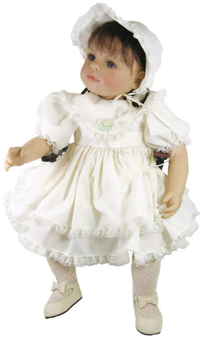 "Vintage Baby Dress for 20"" Mama Dolls"