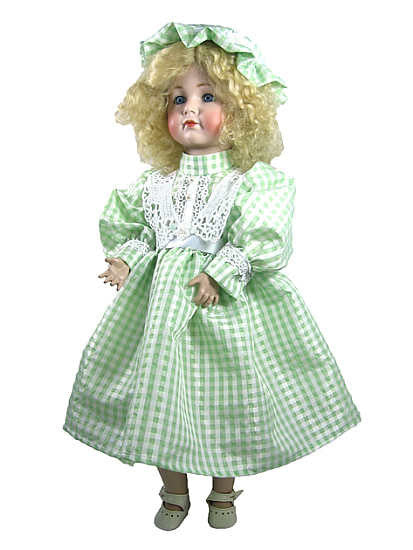 "20"" Slim Taffetta Doll Dress"